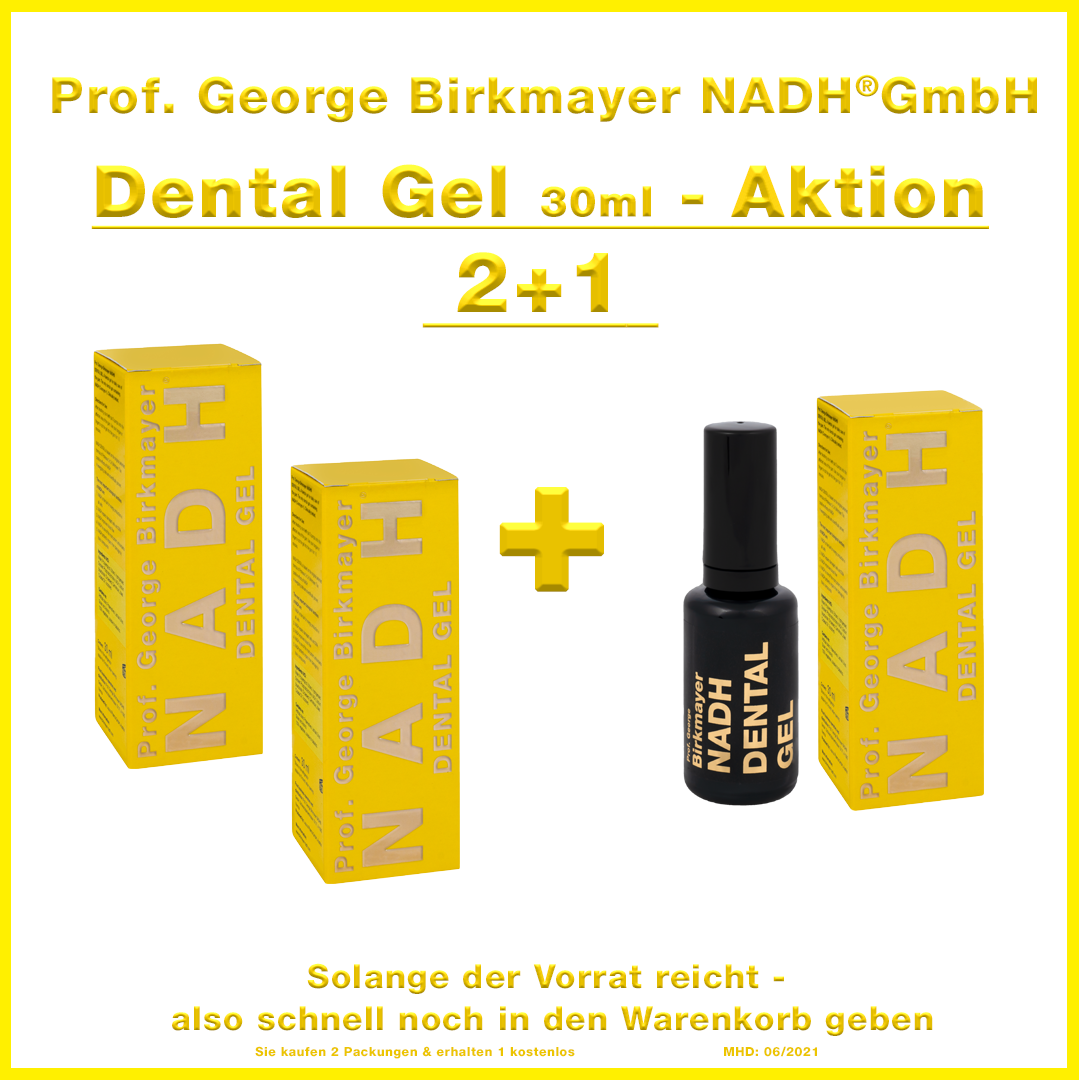 NADH Dental Gel - Aktion